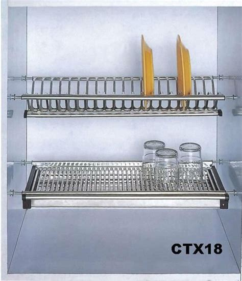Plate Rack For Cupboard by Sits In Cupboard Sink Dish Drying Rack Tiskikaappi