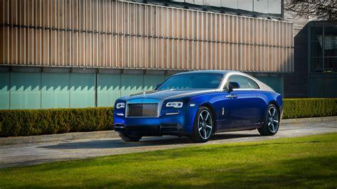 Rolls Royce Wraith 2017 Bespoke 4k Wallpaper