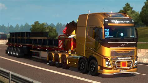 euro truck simulator  mods rpie volvo fh  ver
