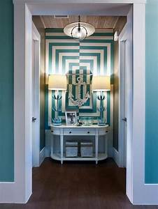 10, Blue, Hallway, Design, Ideas
