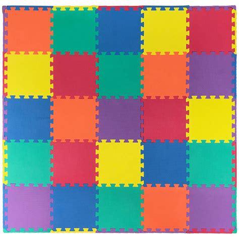 Multi Color    Tiles Interlocking Foam Floor Puzzle