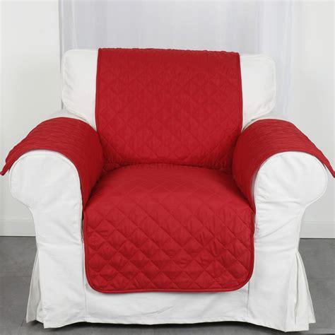 prot 232 ge fauteuil club rouge housse de fauteuil eminza