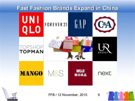 Fast Fashion Brands Expansion In China