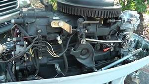 40hp Evinrude Vro Outboard Motor