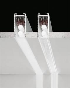 Barre Lumineuse Led : barre lumineuse led encastrable en aluminium extrud ~ Edinachiropracticcenter.com Idées de Décoration