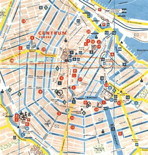 Amsterdam Museum District Map by Smell Map Amsterdam Sensory Maps