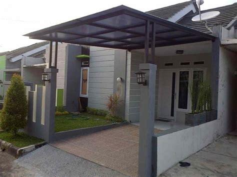 contoh desain teras rumah minimalis  asri