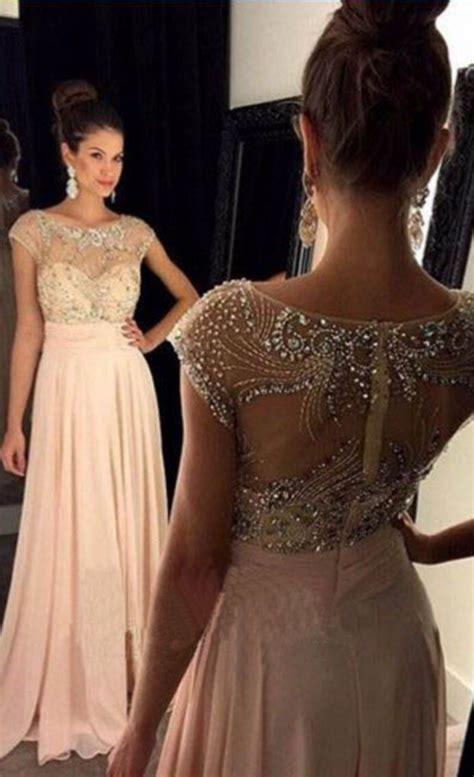 #Pink #chiffon #prom #party #evening #dress #dresses # ...