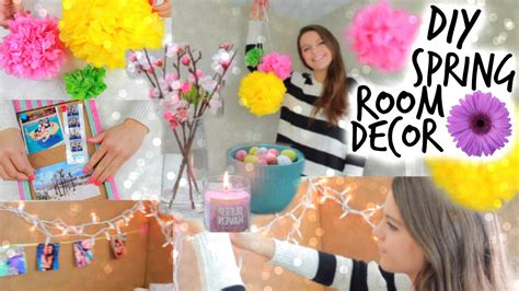 diy spring room decor ideas easy affordable youtube