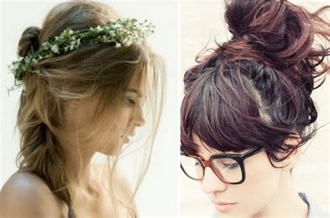 17 Best Ideas About Cute Messy Hairstyles On Pinterest