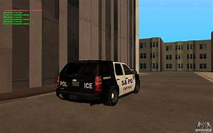 Chevrolet Tahoe Police Lights Chevrolet Tahoe Sapd For Gta San Andreas
