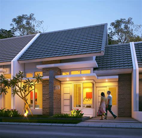 lebih dekat  model rumah minimalis tipe
