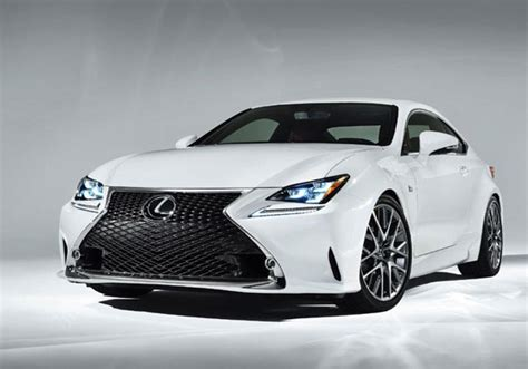 Lexus Rc F Sport Completes Coupe Lineup
