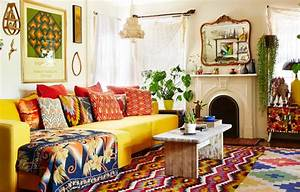 Boho Chic-A Bold Organic Take on Vintage Living BHG