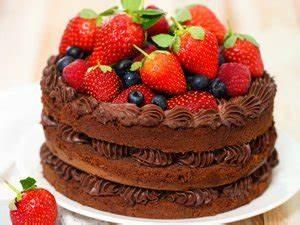 Torta De Chocolate Con Fresas | www.pixshark.com - Images ...