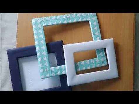 photo frame  waste material  home