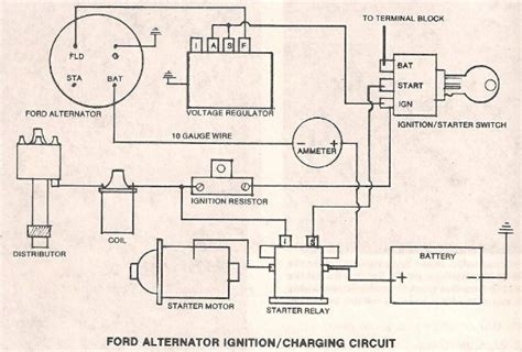 Ford Alternator External Regulator The