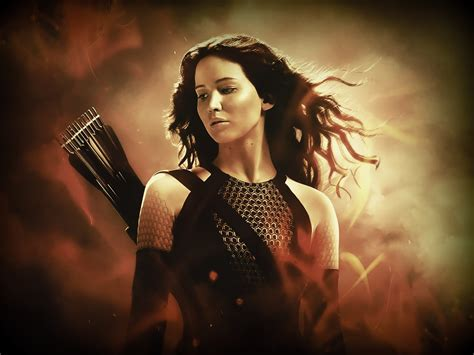 who is katniss named after new wallpaper of jennifer lawrence as katniss in catching fire movie wallpapers