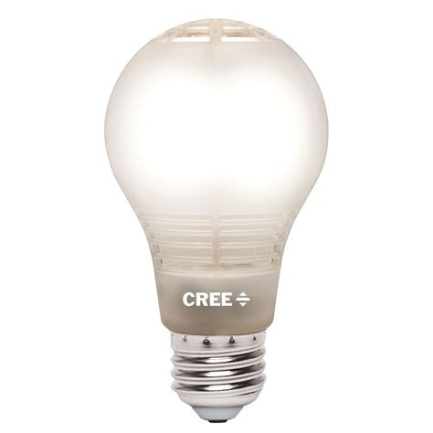 cree led light bulbs cree 60w equivalent soft white 2700k a19 dimmable led