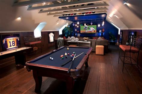 amazing masculine game room design ideas