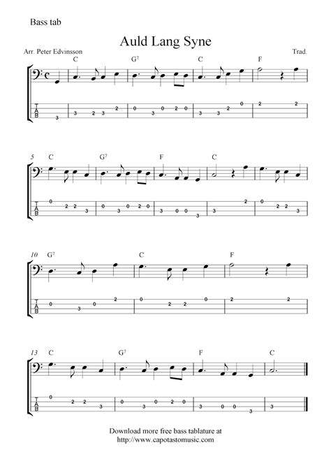 4 songs that use those easy chords. Free Printable Guitar Tabs For Beginners