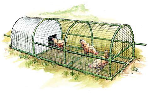 build  predator proof portable chicken coop mother