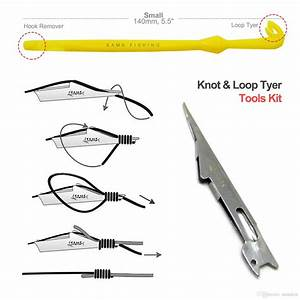2019 Samsfx Quick Nail Knot Tyer And Loop Tying Tools Kit