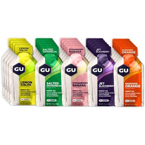 buy gu energy gel run and become