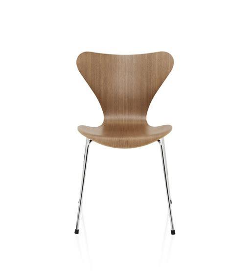 chaise danoise series 7 chair arne jacobsen design for fritz hansen la