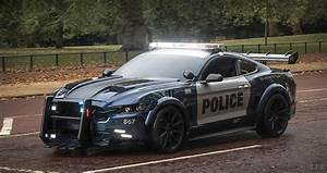2016 Ford Mustang police car - Transformers filming   Flickr