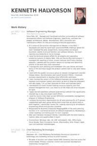 resume of software product manager software engineer resume sles visualcv resume sles database