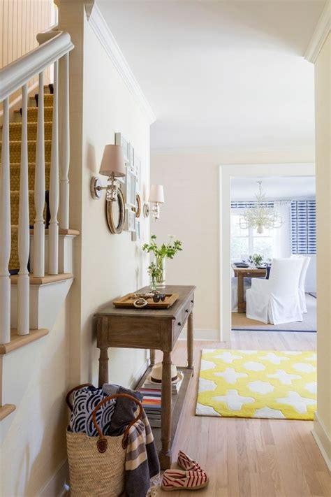 meubles  idees deco couloir  entree de style cottage