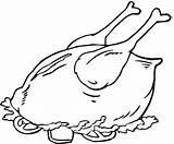 Coloring Beef Roast Colorear Asado Pollo Meat Dibujo Horneado Pollito Pintar Meats Lechuga Tomate Ensalada Sobre Chicken Poultry Imagui 1080p sketch template