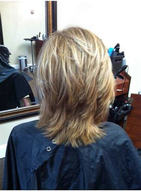 unique short layered haircuts  women