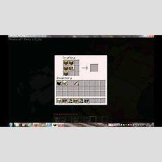Minecraft Wie Man Eine Tür Baut Youtube