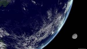 Moon From Earth Orbit - Pics about space