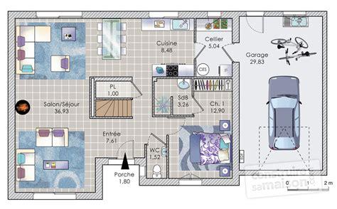 plan maison 150m2 4 chambres maison à étage de 140 m2 dé du plan de maison à