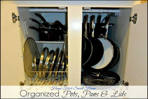 Tips for Organizing Pots and Pans Recipe   Pocket Change