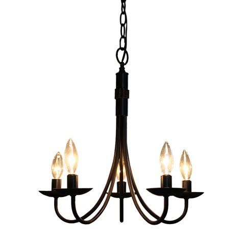 chandeliers at lowes artcraft lighting ac1785eb 5 light mini chandelier lowe