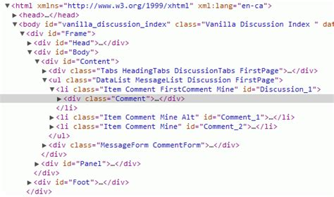 html div element html css styling a div element nested inside