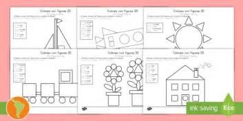 color   shapes englishspanish colour   shapes