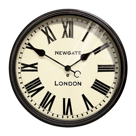 Clock Four Buy Newgate Clocks The Battersby Wall Clock Large Amara