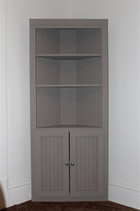 tall corner cabinet furniture woodworking projects plans