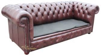 Chesterfield Bed Settee by Chesterfield 3 Seater Settee Sofa Bed Brown
