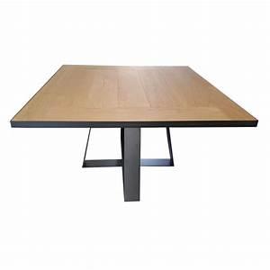 Table à Manger Carrée : table de salle manger carr e tolbiac rallonges d co en ligne tables rallonges ~ Teatrodelosmanantiales.com Idées de Décoration