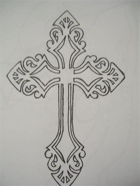 outline   cross   clip art  clip