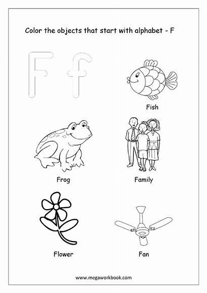 Start Coloring Printable Worksheets Kindergarten Alphabet Letter