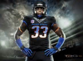 Boise State Football Uniforms