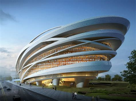 taichung city cultural center organic architecture