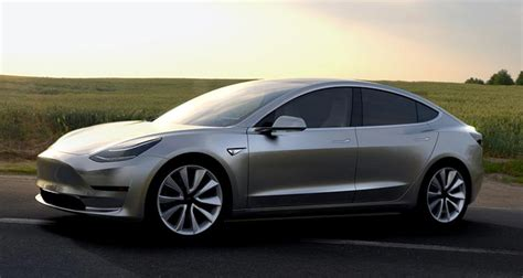 Electric Car Models 2017 by 2017 Tesla Model 3 Electric Car Unveiled Consumer Reports